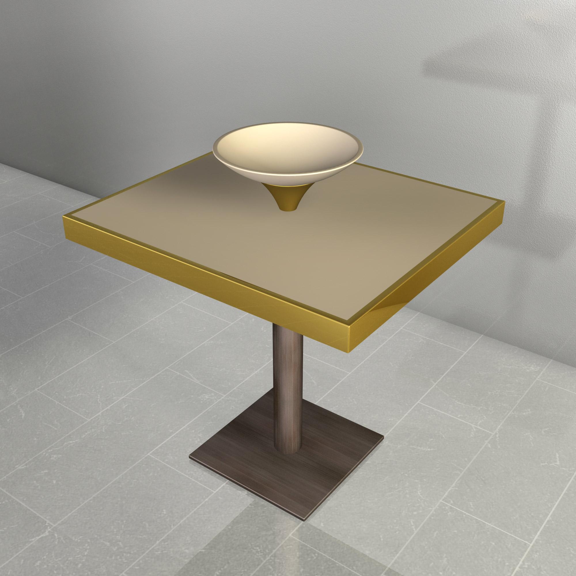 Progettazione tavolo per ristorante – Valona (Albania)